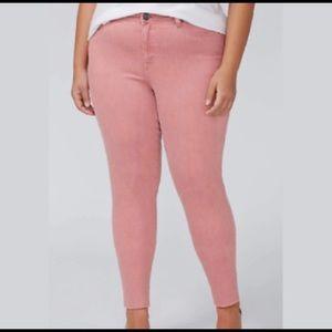 Lane Bryant Dusty Rose Jeans